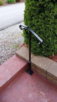 Best Front Garden Handrail People Freestanding Garden Step 400 x 300