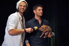 Jared and Jensen, best main characters.