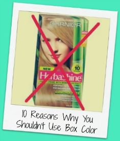 10 Reasons Why You Shouldn't Use Box Color. I can never express this enough. Never should you ever use a box color! It may cost less now but not in the long run! Box Hair Dye, Box Dye, Dye My Hair, Color Your Hair, Hair Dye Colors, Red Hair Color, How To Dye Hair At Home, Home Hair Salons, Breaking Hair