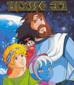 Ulysses 31 - a Franco - Japanese cartoon I adored as a kid. Scifi and Greek myths, two of my favourite things!