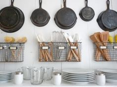 minimalist display / brook farm general store / the-pastry: The Beloved Kitchen Part II -- Cafe-ing Things Up