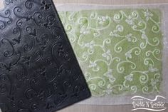 Wax Paper Embossing Technique Sparkle N Sprinkle: General Techniques Embossing Techniques, Card Making Techniques, Embossing Machine, Embossing Folder, Wax Paper, Shots Ideas, Cricut, Embossed Cards, Glitter Cards