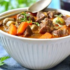 Warm up any winter day with these 50 Crock-Pot recipes. Slow Cooker Recipes, Crockpot Recipes, Cooking Recipes, Crockpot Lamb, Cooking Pasta, Lamb Recipes, Cooking Oil, Dirt Cheap Meals, Beef Stew Meat