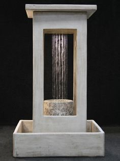 This outdoor fountain is ideal for any setting.   Please visit us at http://www.waterfeaturesupply.com/waterwalls/outdoor-water-fountains.html to get even more information regarding this fountain.