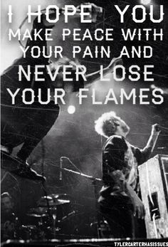 Never lose your flame