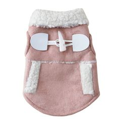 haoricu Pet Clothes, Winter Warm Coat Chien Dog Pajamas Pet Clothes Clothing Small Puppy Hoodie Coat Cotton-Padded Jacket Custome Apparel Motorcycle Vest (S, Khaki) For Sale Dog Vest, Dog Jacket, Chihuahua, Gilet Costume, Super Cute Dogs, Dog Sweater Pattern, Motorcycle Vest, Motorcycle Clothes, Dog Winter Coat