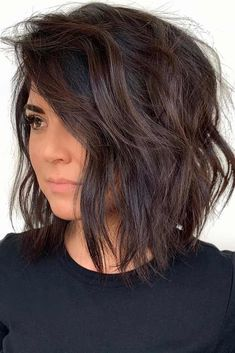 Side Parted Choppy Lob choppybob bobhairstyles bobhaircuts hairstyles haircuts 537687643012339916 Choppy Bob Haircuts, Medium Bob Hairstyles, Choppy Lob, Hairstyles Haircuts, Medium Choppy Bob, Celebrity Hairstyles, Side Part Hairstyles, Wedding Hairstyles, Lob Layered Haircut
