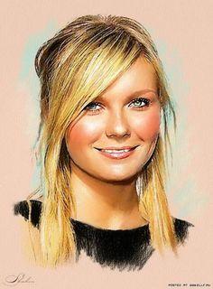 Kirsten Dunst, Celebrity Drawing