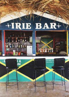 the irie bar in long beach | jamaica travel diary via coco+kelley