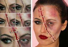 Zu Halloween als Zombie verkleiden