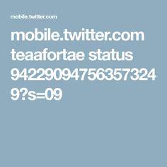 mobile.twitter.com teaafortae status 942290947563573249?s=09
