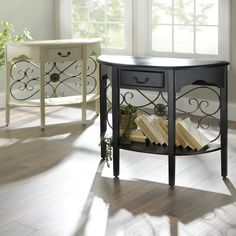 Addison Console Tables are currently on sale! Both colors are available for $129.98, compared to original $149.99, through 8/2.