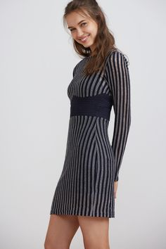 DESCENT KNIT MINI DRESS, FINDERS KEEPERS $140.00    http://www.shopyou.com.au/ #womensfashion #shopyoustyle