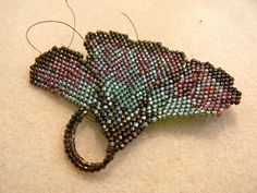 beaded ginkgo leaf instructions - Google Search