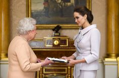 Angelina Jolie Made an Honorary Dame by Queen Elizabeth | Vanity Fair