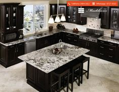 If you are looking for kitchen design ideas black cabinets you've come to the right place. We have 20 images about kitchen design ideas black cabinets Kitchen Craft Cabinets, Black Kitchen Cabinets, Black Kitchens, Home Kitchens, Kitchen Backsplash, White Cabinets, Kitchen Countertops, Dark Countertops, Kitchen Island