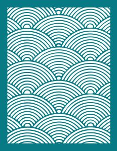Silhouette Online Store - View Design #57888: wave pattern