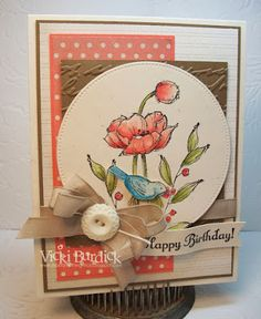 It's a Stamp Thing: Color Challenge.... Happy Birthday