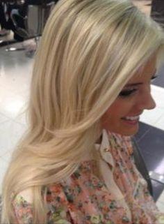 Creamy pale beige blonde