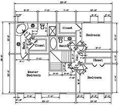 Second level floor plan for the Kodiak Steel Homes Leabrook: 2,186 Square Feet. #steel #floorplans #architecture