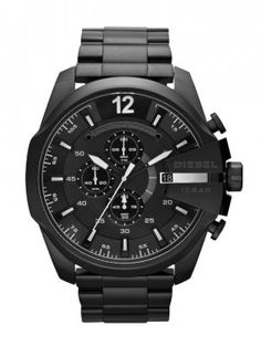 8f7a6d7eb159 Diesel Men s Diesel Chief Series Analog Display Analog Quartz Black Watch