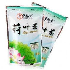 He-Ye, czli chińskie liście lotosu, używane do przyrządzania orzeźwiających napojów.