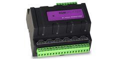 DIN Rail mount splitter/booster with screw terminals. Supports the ESTA/ANSI RDM protocol. Lighting, Light Fixtures, Lights, Lightning