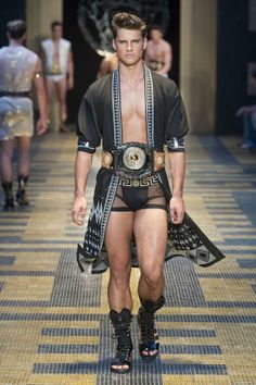 Versace Men's Spring/Summer 2013