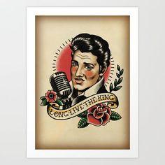 Quadro Silhueta Elvis Presley Silhouette Pinterest
