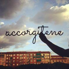 accorgitene...  #accorgitene #italy #milan #sky #milano #vectorealism #typography