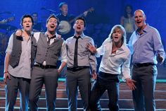 Image of Celtic Thunder  These gentlemen are the original five members of the group..