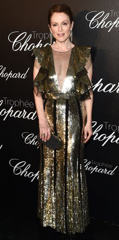 Julianne Moore in Alexander McQueen