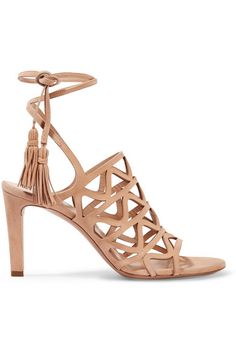 CHLOÉ | Cutout suede sandals