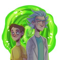 Rick and Morty by actionpilot on DeviantArt Cartoon Fan, Cartoon Tv Shows, Ricky Y Morty, Rick Rolled, Wubba Lubba, Harry Potter Illustrations, Princess Movies, Adult Cartoons, Old Shows