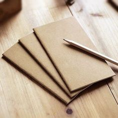 1 Pieces Stapled Lined Paper Notebook Sketchbook Plain Kraft Note Pad Cahier Stationery 108 X