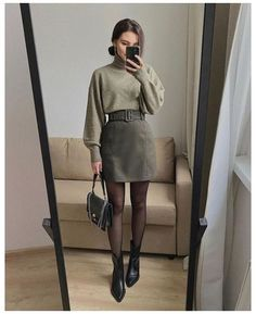 Simple Fall Outfits, Winter Fashion Outfits, Classy Outfits, Look Fashion, Pretty Outfits, Stylish Outfits, Korean Fashion, Fashion Pants, Fashion Women