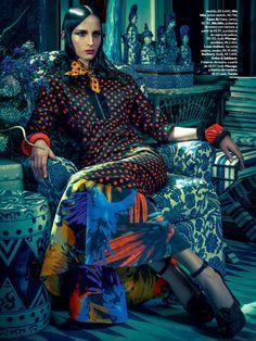 Waleska Gorczevski by Zee Nunes for Vogue Brazil November 2013