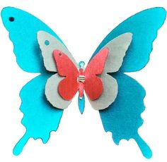 3D butterfly #home wall sticker by ioldsheep