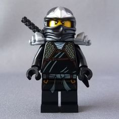 Blue Ninjago | LEGO Ninjago Black Cole ZX Minifigure NEW