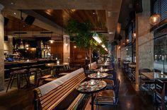 Morrison Bar & Oyster Room, by Akin Creative | Australian Design Review