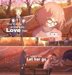 Anime Quotes; Kyoukai No Kanata