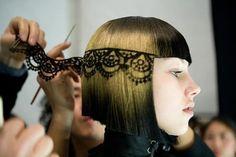 Trending: Hair Stenciling, Crafturday Blog