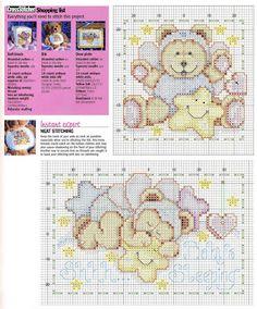 Manualidades para bebes en punto de cruz : cositasconmesh