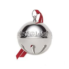 2014 Wallace Annual Silver Plate Sleigh Bell - 44th Edition Actually this is the brand I have started in my collection, so would prefer this one instead of the Reed & Barton