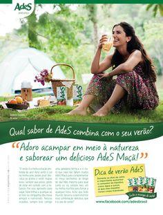 Publieditorial de Ades - Unilever produzido para a revista Boa Forma, 2013. Foto: Christian Parente.