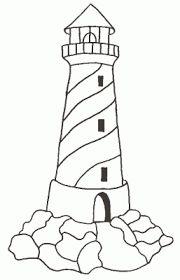 Znalezione obrazy dla zapytania latarnia morska kolorowanka