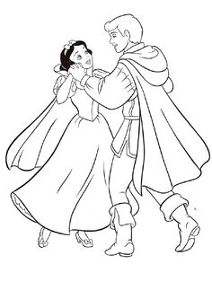 20 Beautiful Snow White Coloring Pages For Your Little Ones