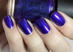 Good morning everyone! I hope you all had a fabulous weekend! Over the weekend, I swatched the newest OPI collection, Skyfall, for you. Plea...