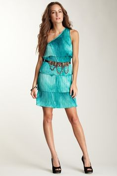 Custo Barcelona One-Shoulder Dress on Haute Look. This is just fun!