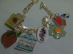 Life and Mixed Media: A little Spring Bling! shrink plastic